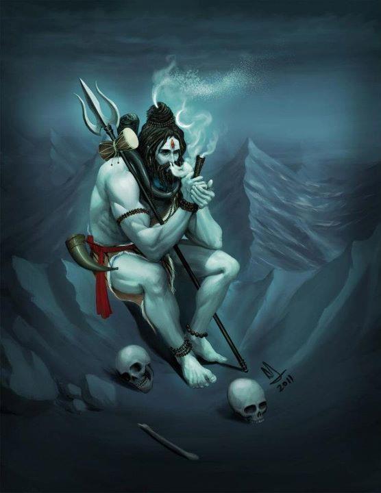 Shiva on weed.