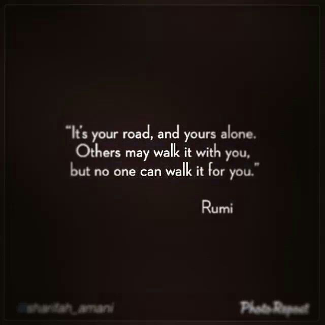 Day 59: Grateful for the ones who walk it with me too though!! ❤#Rumi #Poetry #Quotes