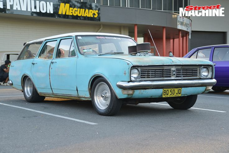 HT Holden Wagon Summernats