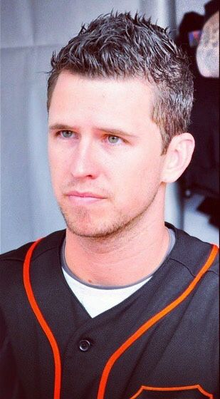 Buster Posey... I actually took this photo at fan fest 2015. Wish I put my siggy on it!