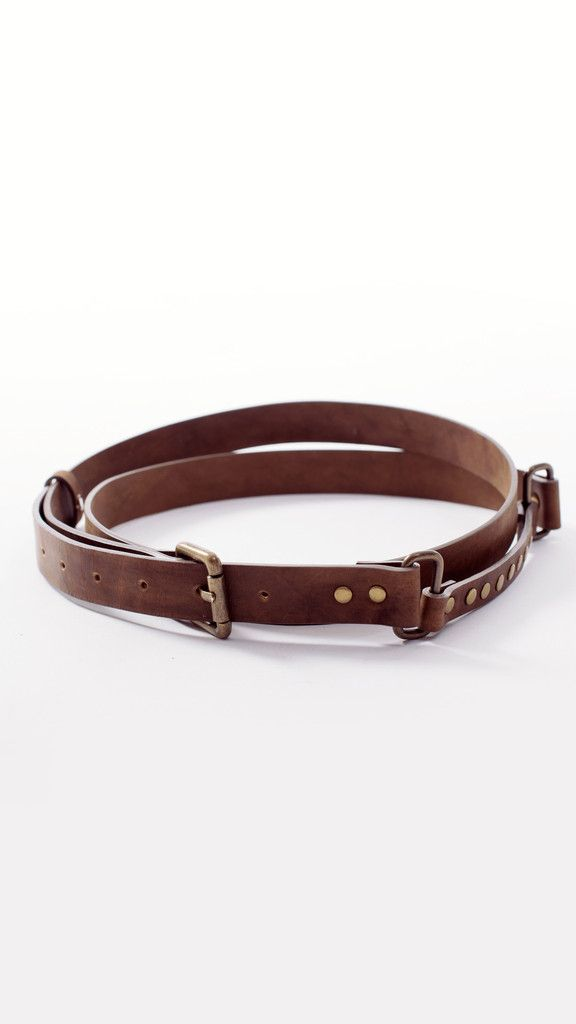 Leather double wrap waist belt #lurestore #leatherbelt #doublebelt #hippie #genuineleather