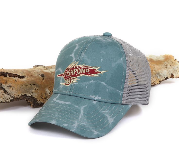 Roach fly hat edc pinterest roaches and detail for Fly fishing cap