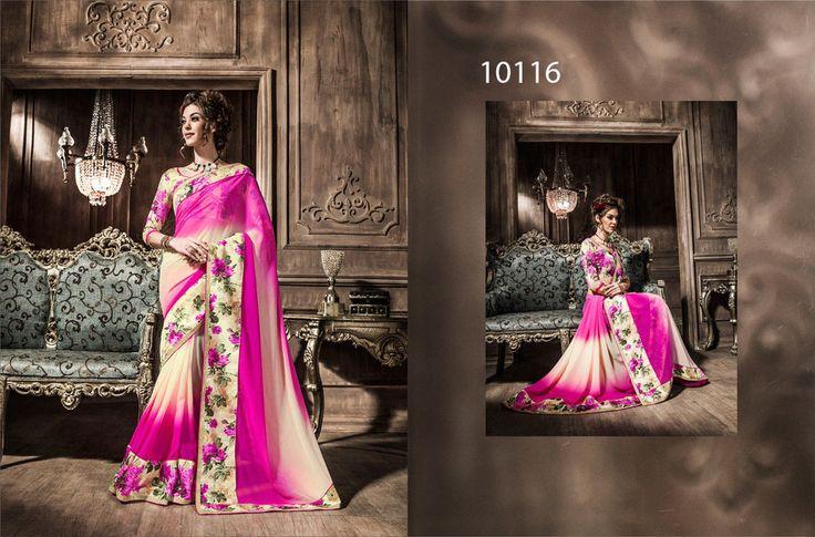 Traditional Sari Ethnic Indian Designer Saree Wedding Bollywood Pakistani TIA  #KriyaCreation