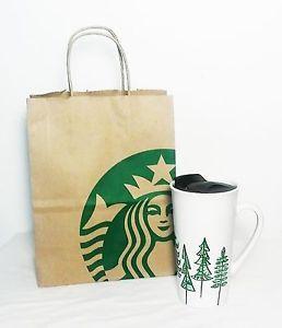 Starbucks-Christmas-Holiday-Pine-Trees-Tall-Coffee-Mug-with-Spill-Proof-Top