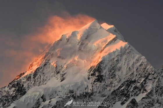 Wednesday Wallpaper | Winter Sunset On Aoraki / Mt Cook