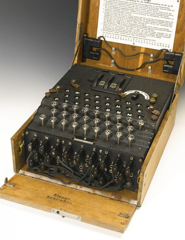 Rare WWII German Enigma machine sold for £149,000
