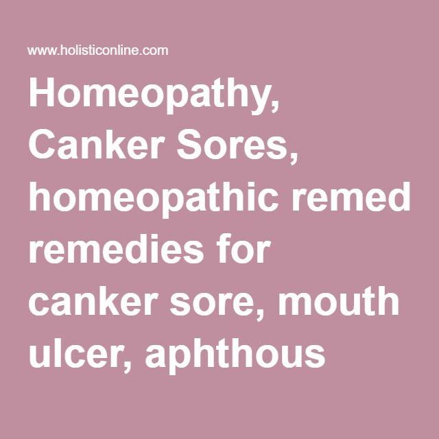 25+ best Canker sore treatments ideas on Pinterest
