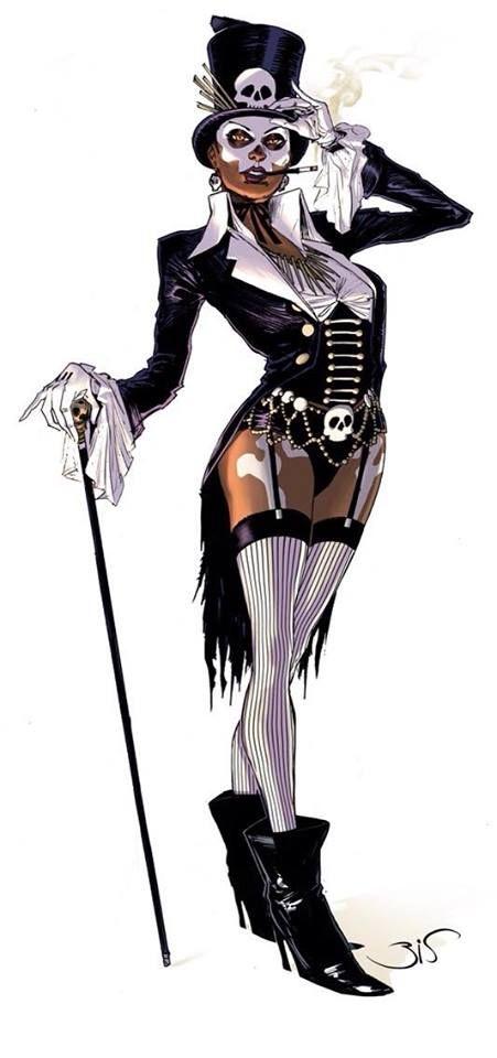 Current Cosplay Project for Otakon #1: Baron Samedi genderbend, Baroness Samedi/Lady Baron Samedi
