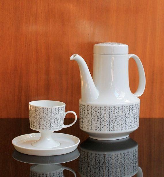 Coffee Set by Tapio Wirkkala for Rosenthal, 1963.