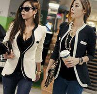 White dark casual jackets