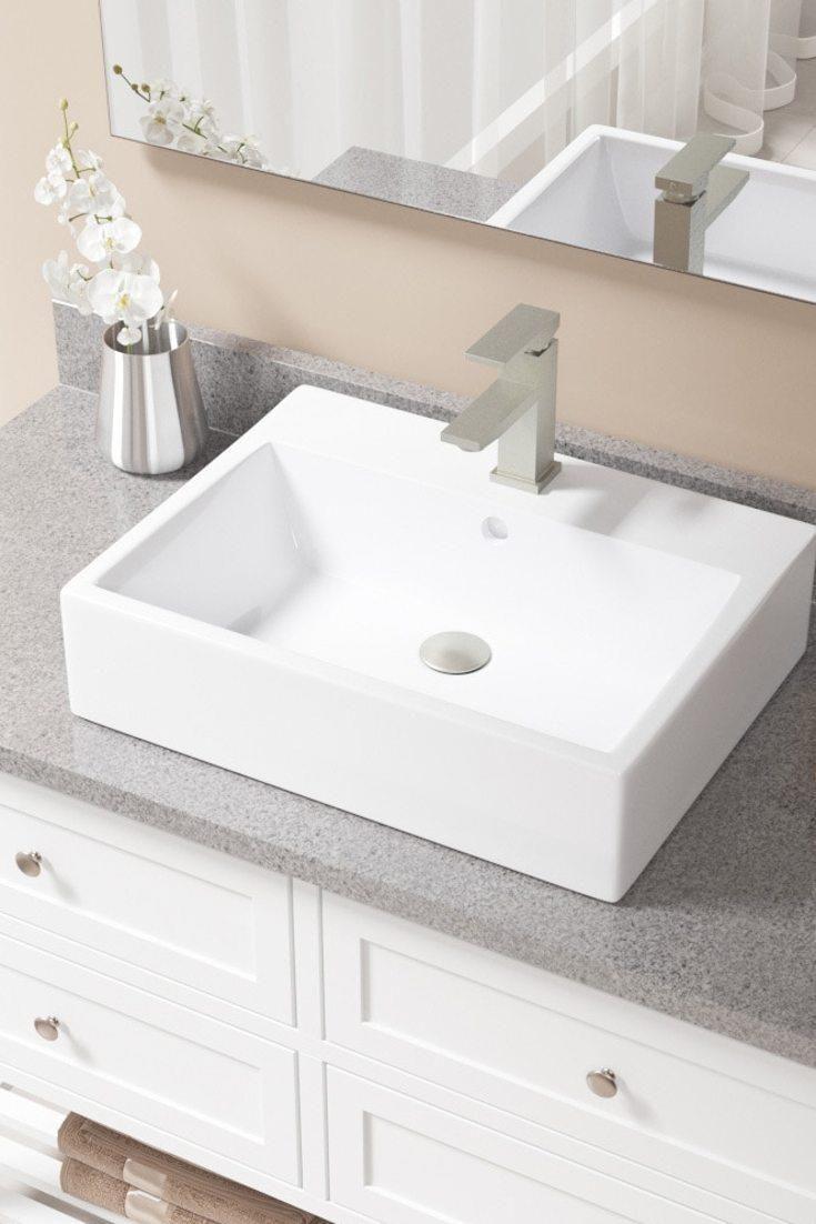 Selecting A New Style Of Basin 11 In 2020 Rectangular Sink Bathroom Small Bathroom Vanities Wall Mounted Bathroom Sinks