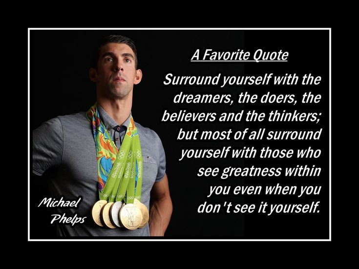 Swimming Motivation Poster Michael Phelps Swimmer Photo Quote Wall Art…