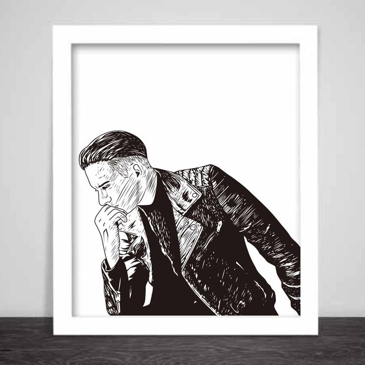 G-eazy When its dark out Art Poster (6 sizes) // geazy g eazy leather jacket // Babes & Gents // www.babesngents.com