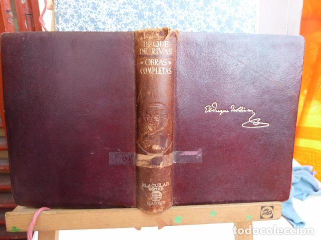 Libros de segunda mano: duque de rivas -obras completas de aguilar 1945 - Foto 6 - 91337755