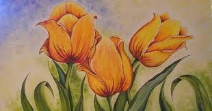 Resultado de imagen para pinturas de cuadros de cabecera al oleo de flores