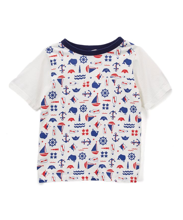 Off-White Nautical Tee - Infant, Toddler & Boys