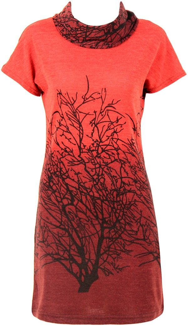 Lush for autumn - love this neck line!
