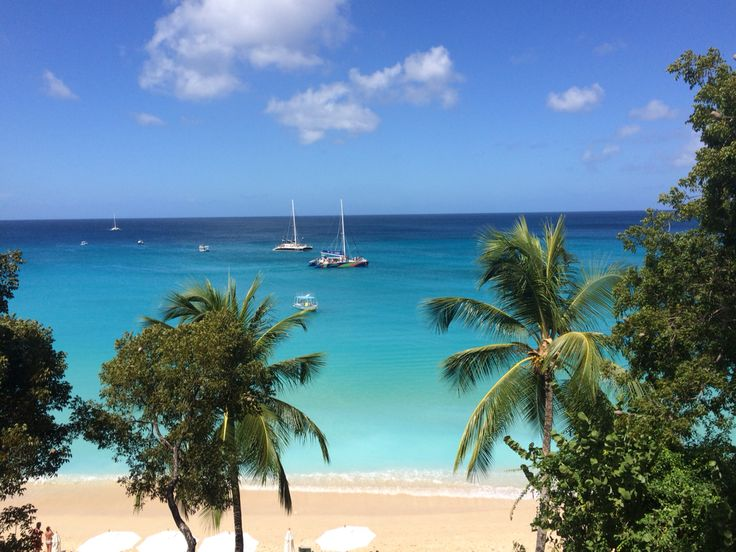 View from coral cove barbados