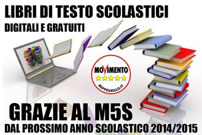 Libri di testo scolastici digitali e gratuiti