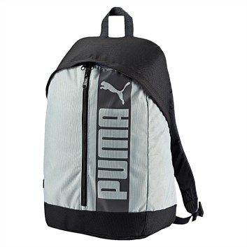 Rebel Sport - PUMA Pioneer II Backpack Grey 21 Litres