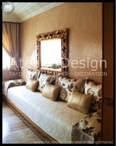 Charmant Decoration Triate Du Salon Beldi. Salon Marocain Haut De Gamme U2013 Salon  Marocain U2013 Design U2013 Atelier Design
