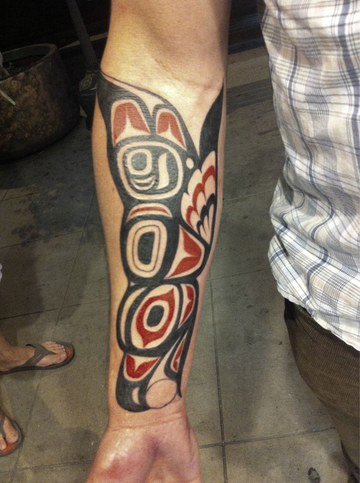 #Haida #tattoo #tribal #ink #armtattoo #sandiego
