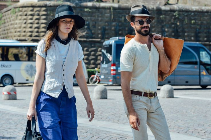 Best Street-Styles From the Men's Shows