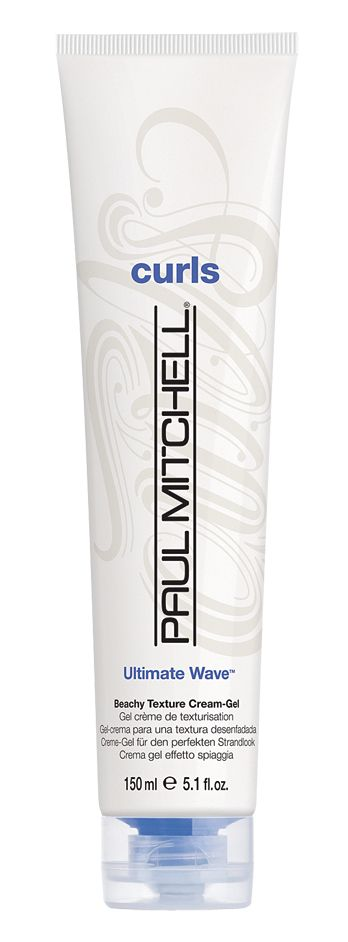 Ultimate Wave™, I like to mix this with paul mitchell's twirl around for a beachy, wavy look