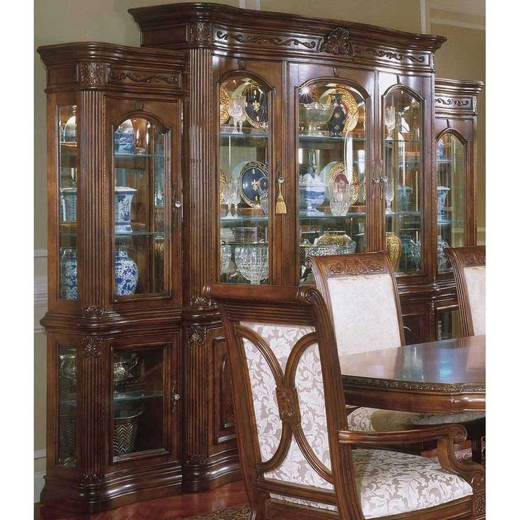 Dining Set With China Cabinet: 34 Best China Cabinets Images On Pinterest