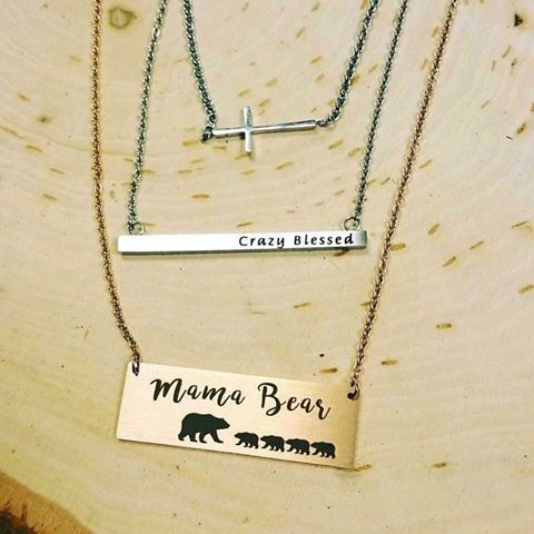 Personalized Mother's Day gifts from jBloom!💁🏻😍 #jbloom #lotd #jbloomdesigns #mamabear #jewelry #necklace #momlife #jewelrydesigner #fashion #love #blessed #mom #mothersday #sahm #wahm #networking #groundfloor #personalized #wahm #momboss #beautiful #networkmarketing #bloom #groundflooropportunity #milso #trendy #mompreneur #thankful #crazyblessed #momof4 #family