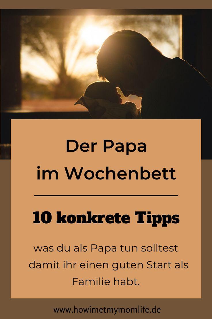 Der Papa im Wochenbett