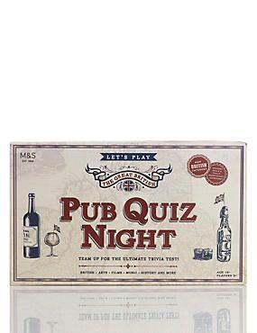 Pub Quiz Night Trivia