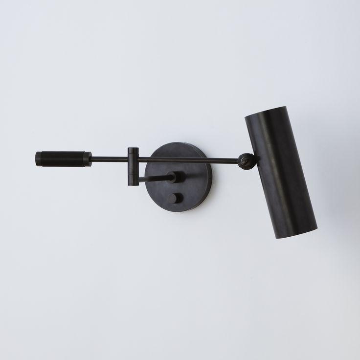 Cylinder Swing Arm Sconce | ROOM