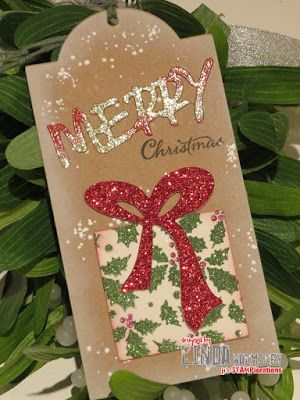 Tag by Linda for the December TAGplorations Challenge - All About Christmas