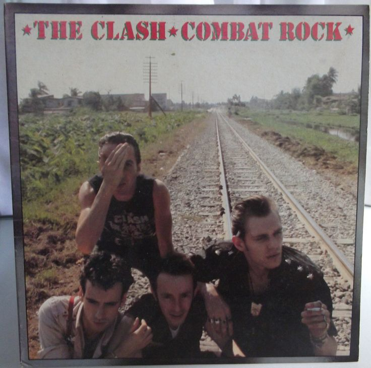 The Clash, Combat Rock, Vintage Record Album, Vinyl LP, Classic Rock and Roll, English Punk Band, Rockabilly, Dub, Reggae, Ska by VintageCoolRecords on Etsy