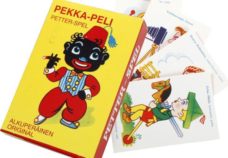 Pekka-pelikortit, yritä kerätä mahdollisimman paljon perheitä, mutta varo Pekkaa!