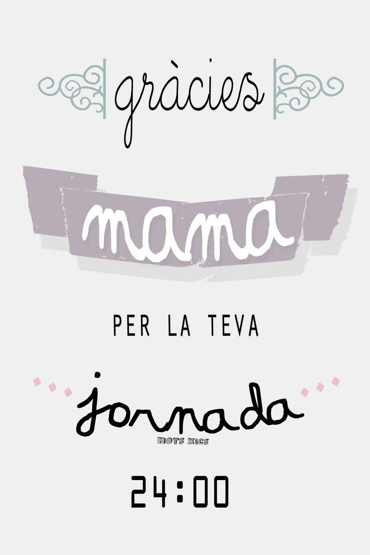 Mots en catal pel dia de la mare