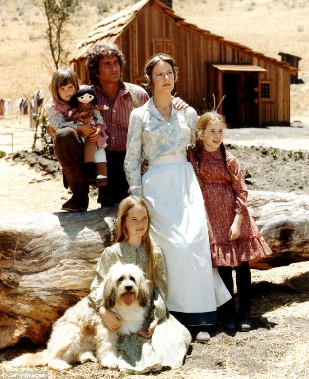 The Little House set was located on the Movie Sky Ranch in Simi Valley, California.