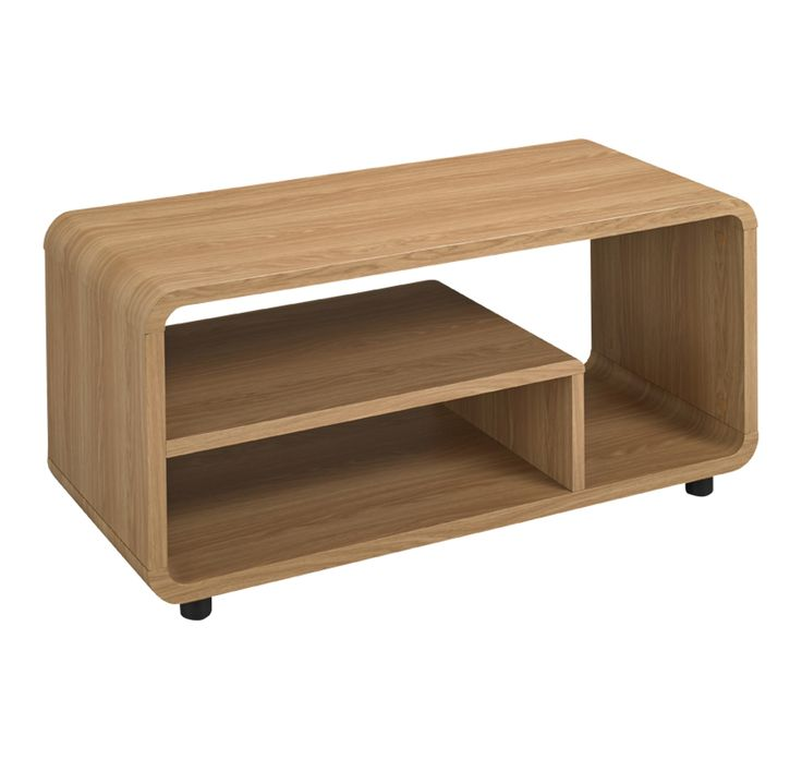 With itsdistinctive curved design, this Benny TV standbrings style and practicality to your room. Its great design has a modern look, yet due to its 1960's in