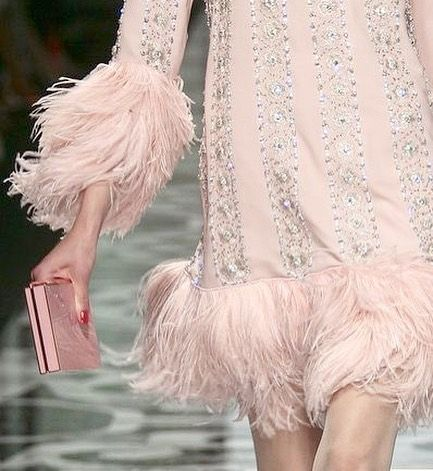 We love this Valentino runway look Pink feathers and diamond heaven we have marabou drops instore @topshop Oxford Circus now #styleinspo #pink #pinktomaketheboyswink #feathers #marabou #diamonds #diamondsareagirlsbestfriend #style #fashion #vintage #inspiration #valentino #peekaboovintage
