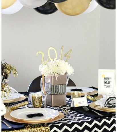 New years eve party decorations golden glam dinner party for 15 years party decoration