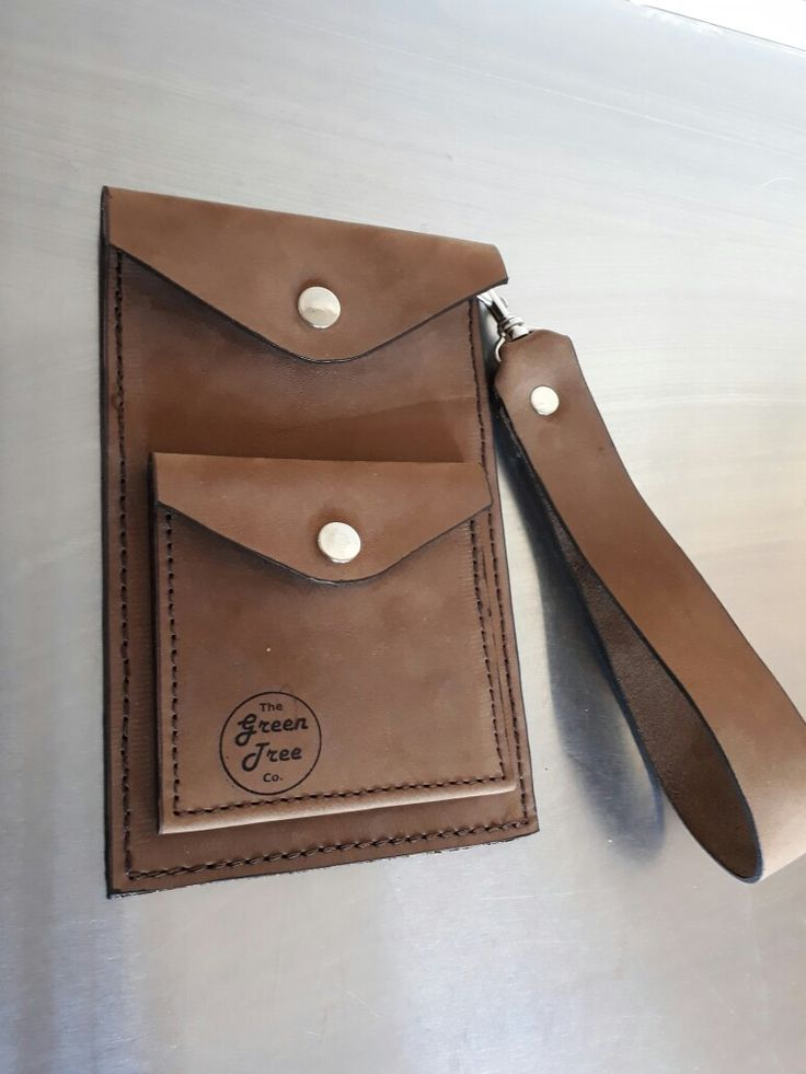 Leather phone case and purse