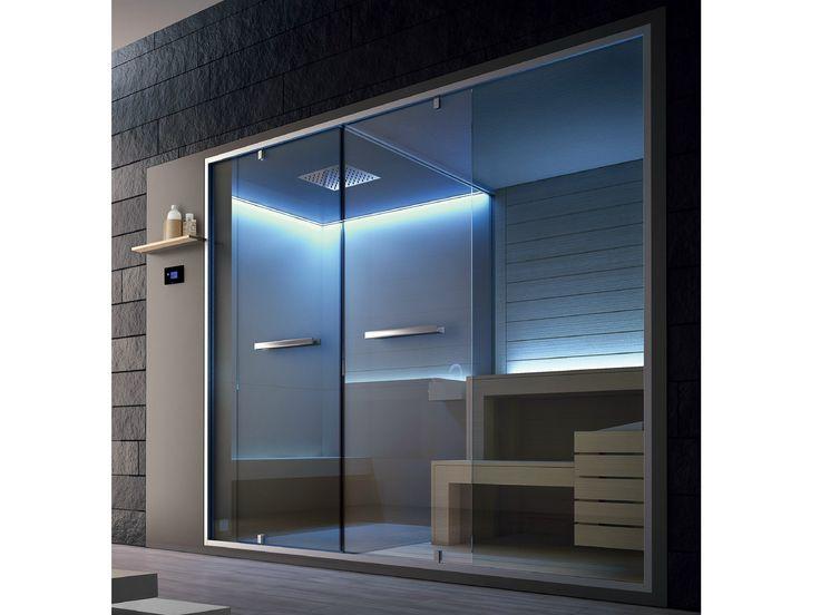 Téléchargez le catalogue et demandez les prix de Ethos | sauna By gruppo geromin, sauna / hammam design Franco Bertoli, Collection ethos