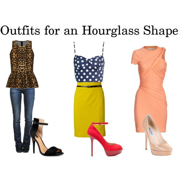 I'm not so much an hourglass... But if I can just have that polka-mustard-red heel ensemble that'd be grrrrreat