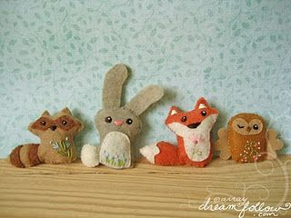 woodland creatures pdf pattern