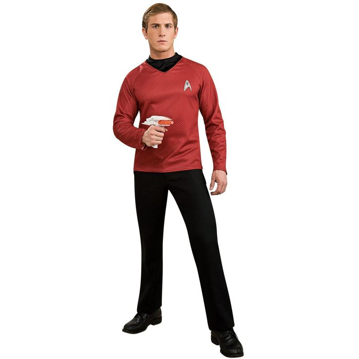Star Trek Movie (2009) - Red Shirt Adult Costume