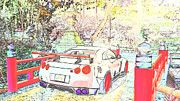 """New artwork for sale! - """" Nissan Gtr R35  by PixBreak Art """" - http://ift.tt/2kxFav4"""
