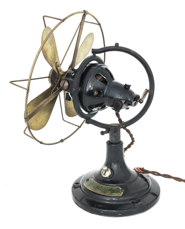 1926 Veritys Zephyr Antique Electric Fan