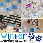It is SUPER cold outside which means it's the perfect time to explore ice! ClickHEREto read a post about my go to Winter Centers and Activities (math, literacy, fine motor, sensory, and more). ICE! Each day I put blocks of ice, cups of blue water, small droppers, and tweezers in the sensory table. Each morning...Read More