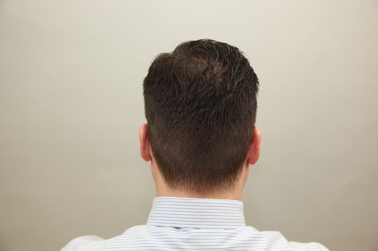 Men Hairstyles Back View